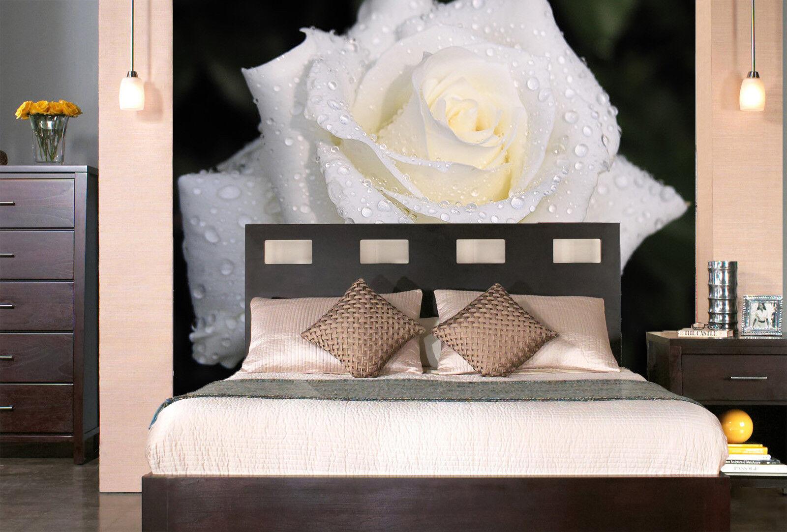 3D Weiße Rosa Tau 743 Tapete Wandgemälde Tapete Tapeten Bild Familie DE Summer | Verschiedene Waren  | Spaß  | Qualifizierte Herstellung