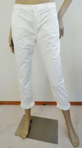 Alex Cropped Jeans Stretch Designer Bukser Brand 1221 Slim Twill Hvid Chino J w7n6Sx4a