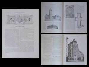 Avoir Un Esprit De Recherche Construction Moderne N°34 1908 Karthoum Soudan, Cathedrale, Robert Weir Schultz