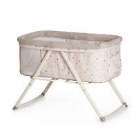 Hauck Multi Dots Sand Dreamer Bassinet / Travel Cot / Portable Baby Cradle