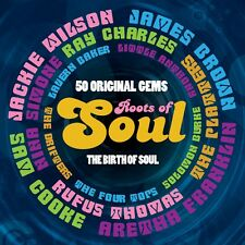 2 CD BOX ROOTS OF SOUL BROWN WILSON COOKE FRANKLIN CHARLES JAMES SIMONE ETC