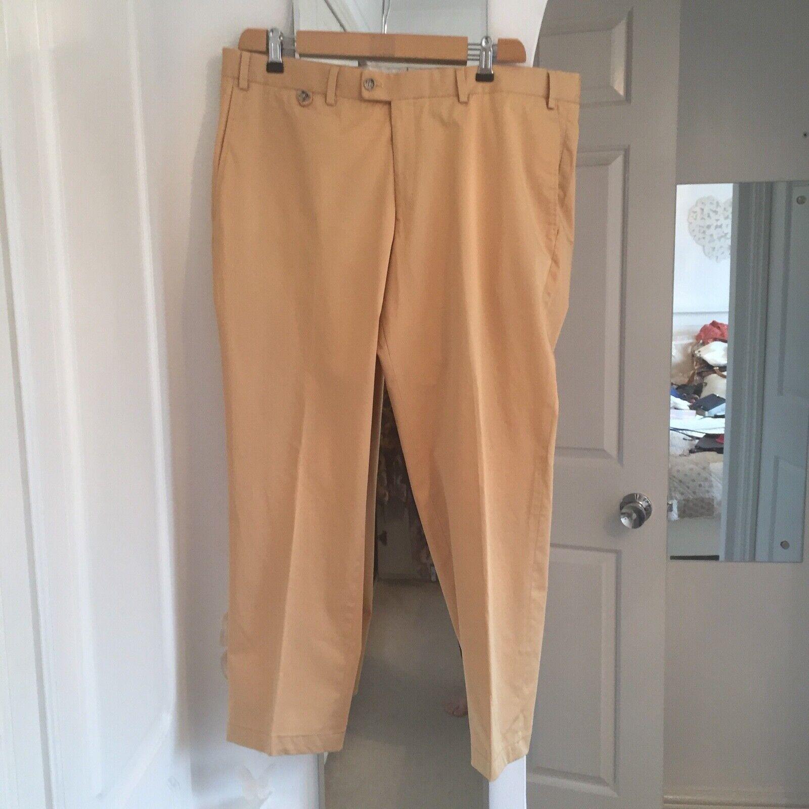 HILTL Mustard yellow trousers size 40W 28L BNWT