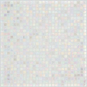 glasmosaik fliesen wei perlmutt wand dusche wc k che 10. Black Bedroom Furniture Sets. Home Design Ideas