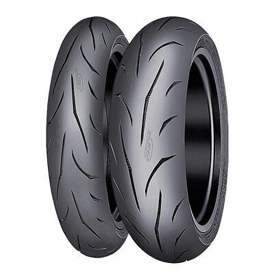 Motorcycle Tyres Mitas Sportforce Plus 120//70//ZR17 /& 180//55//ZR17 Pair Deal *NEW*