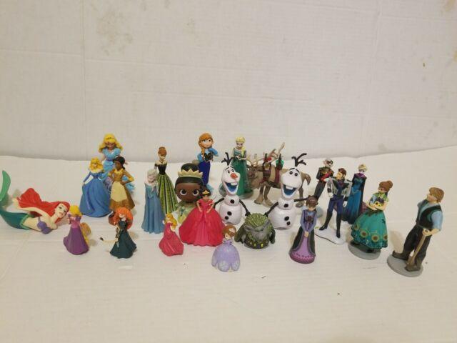 Disney Princess & Frozen 2 Mini Figure Elza Ana Ariel Sofia Cinderella Olaf Sven