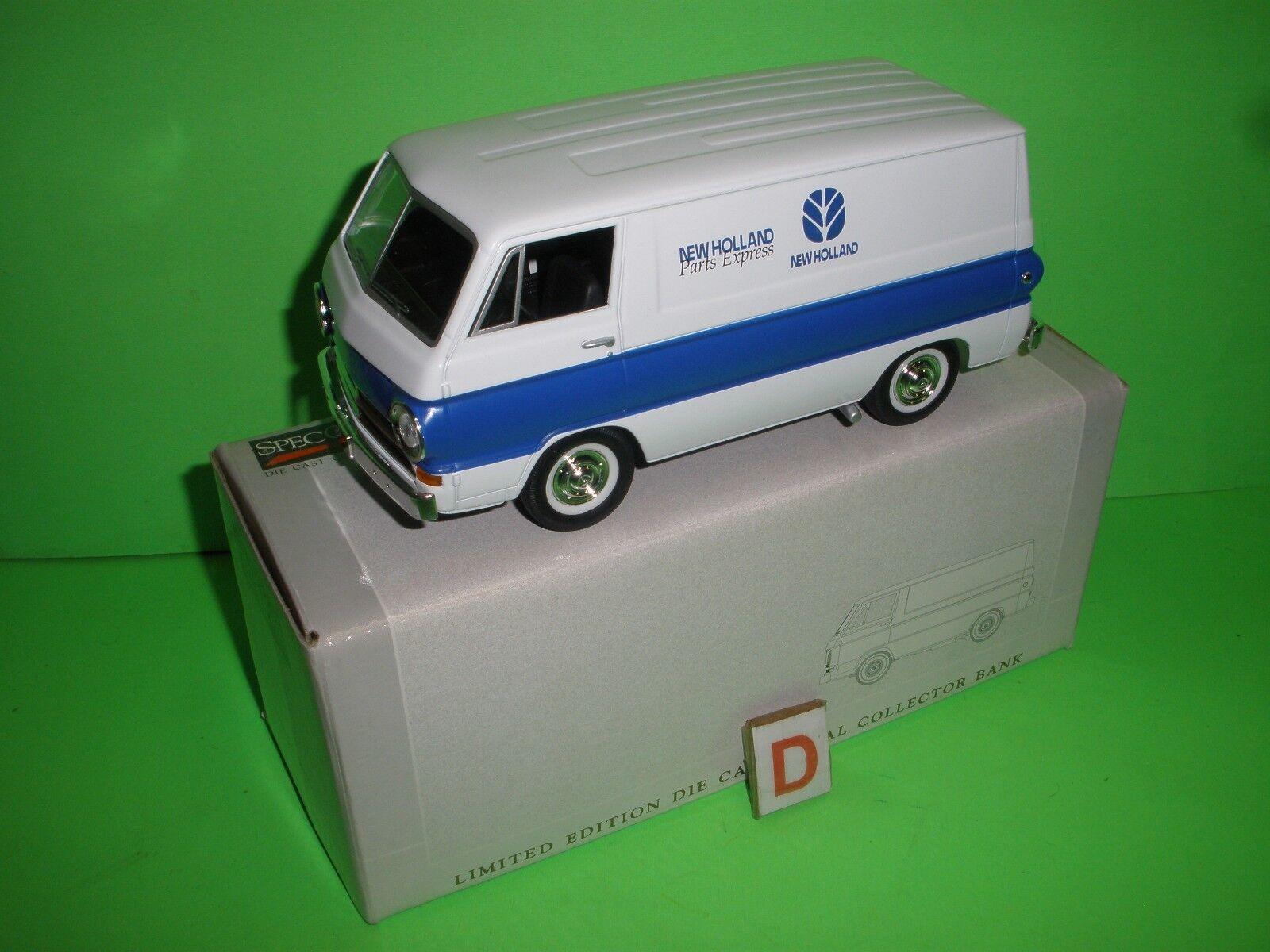1964 DODGE A100 VAN NEW HOLLAND PARTS Liberty Classics 1 1 1 25 SPEC CAST MIB NEW D 236539