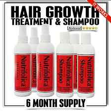 BEST SELLING EBAY HAIR LOSS PRODUCT NUTRIFOLICA: 3 GROWTH TREATMENT 3 SHAMPOO
