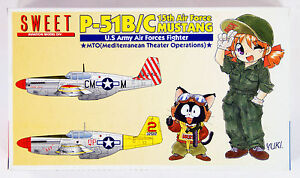 Sweet-Aviation-18-U-S-Army-Air-Forces-Fighter-P-51B-C-Mustang-1-144-Scale-Kit