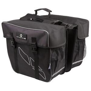 Doppel Gepäckträger Tasche Double für Fahrrad Fahrradtasche Gepäcktasche Neu