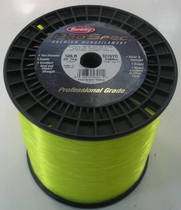 Berkley 1249143 PS350-FY Pro  Spec Line 3 Lb Spool Fluorescent Yellow 17878  shop makes buying and selling