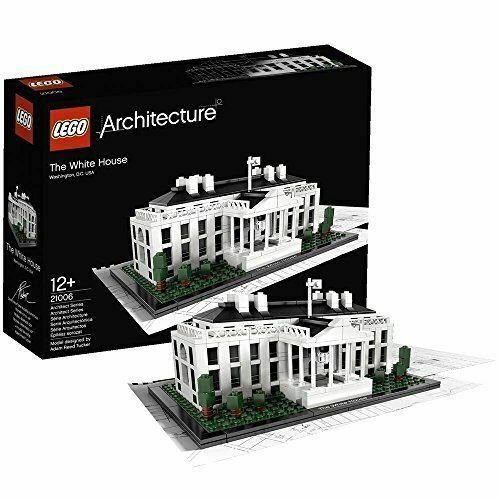 LEGO Architecture 21006 White House - Brand New In Box - Retired Set