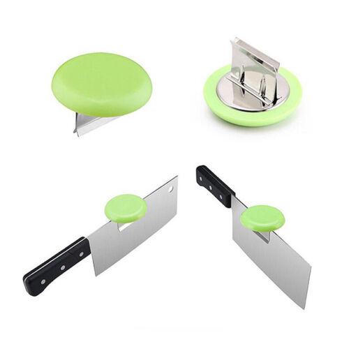 Stainless Steel Blade Cap Cut Chicken Bones Chopping Booster Bracket Holder Z