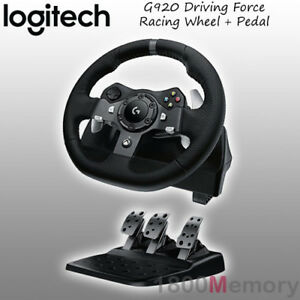 Details about Logitech G920 Driving Force Racing Wheel for Microsoft Xbox  One PC MAC