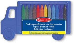 MELISSA-amp-Doug-SET-CAMION-Crayon-Art-colorare-Disegno-Bambino-Neonato-Bambino-Bambini-BN