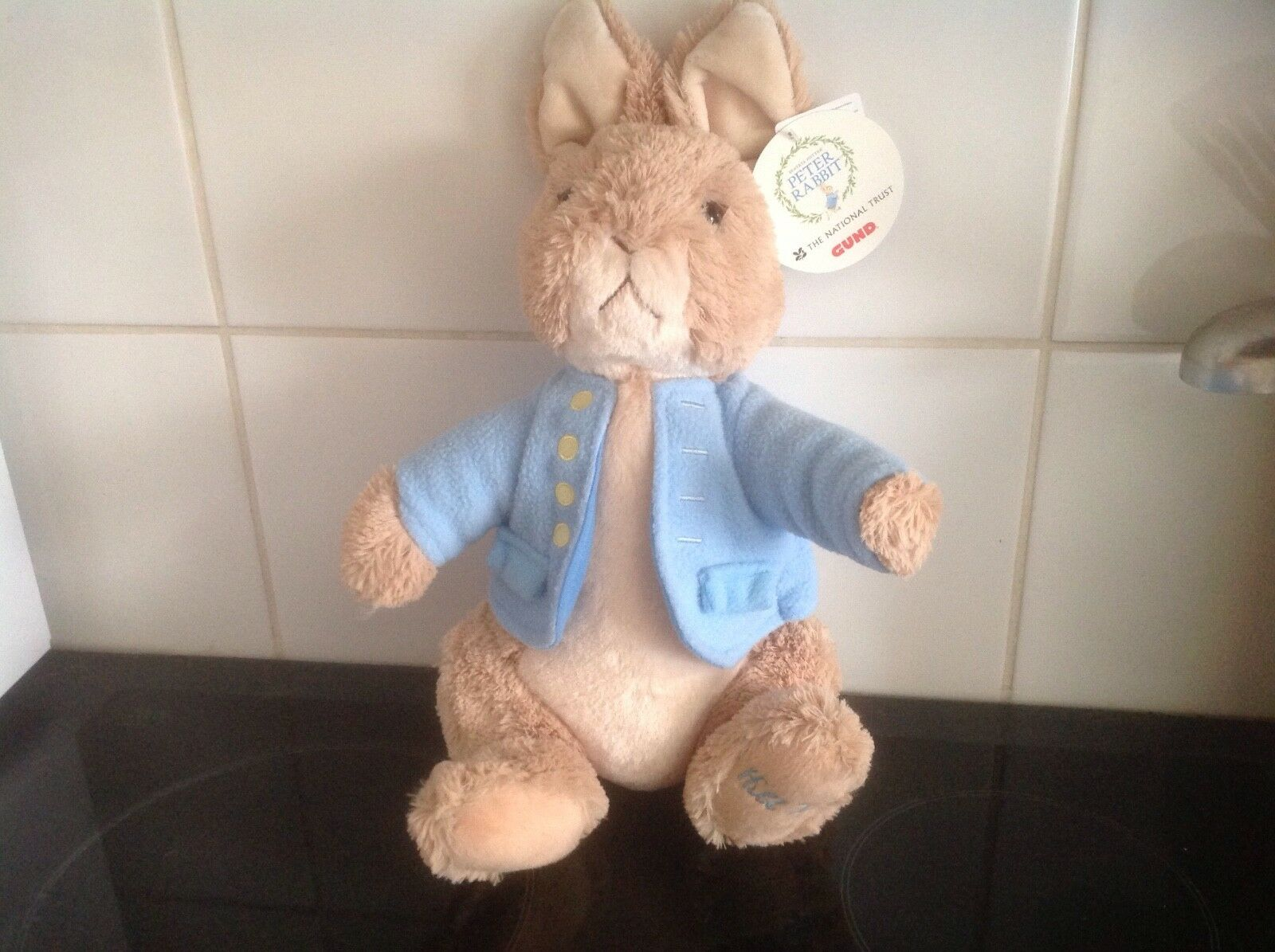 Beatrix Potter GUND Large Peter Rabbit Hill Top Exclusive (RARE)