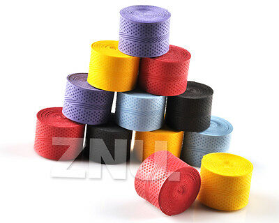 12x New Anti-slip Racket Over Grips Bat Tennis Badminton Squash Tape Band Sport