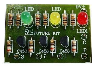 FA902: Water Level Indicator 3 Levels for Pool Tank Future Electronic Circuit