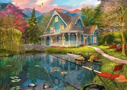 1000 pieces Lakeside Retirement Home Jigsaw Puzzle Schmidt Dominic Davison