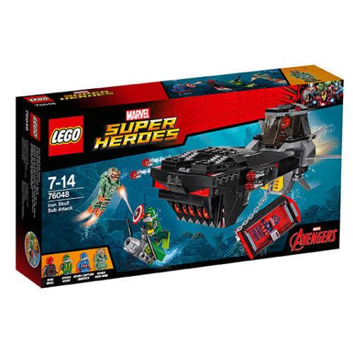 1 von 1 - LEGO Marvel Super Heroes U-Boot Überfall von Iron Skull (76048)