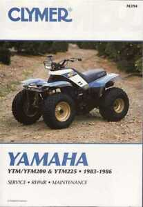 Yamaha-YTM200-YTM225-YFM200-ATVs-1983-1986-Workshop-Manual
