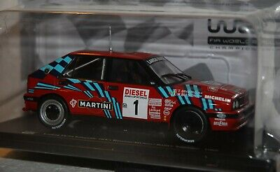Lancia Delta Integrale 16V Biason-Siviero Rally Sanremo 1989 #1 Hachette 1:24