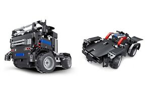 Teknotoys-Active-Bricks-RC-2in1-Truck-amp-Sportwagen-schwarz