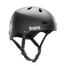 Bern Men's Macon EPS Bike Helmet Matte Black VM2EMBK Large XL
