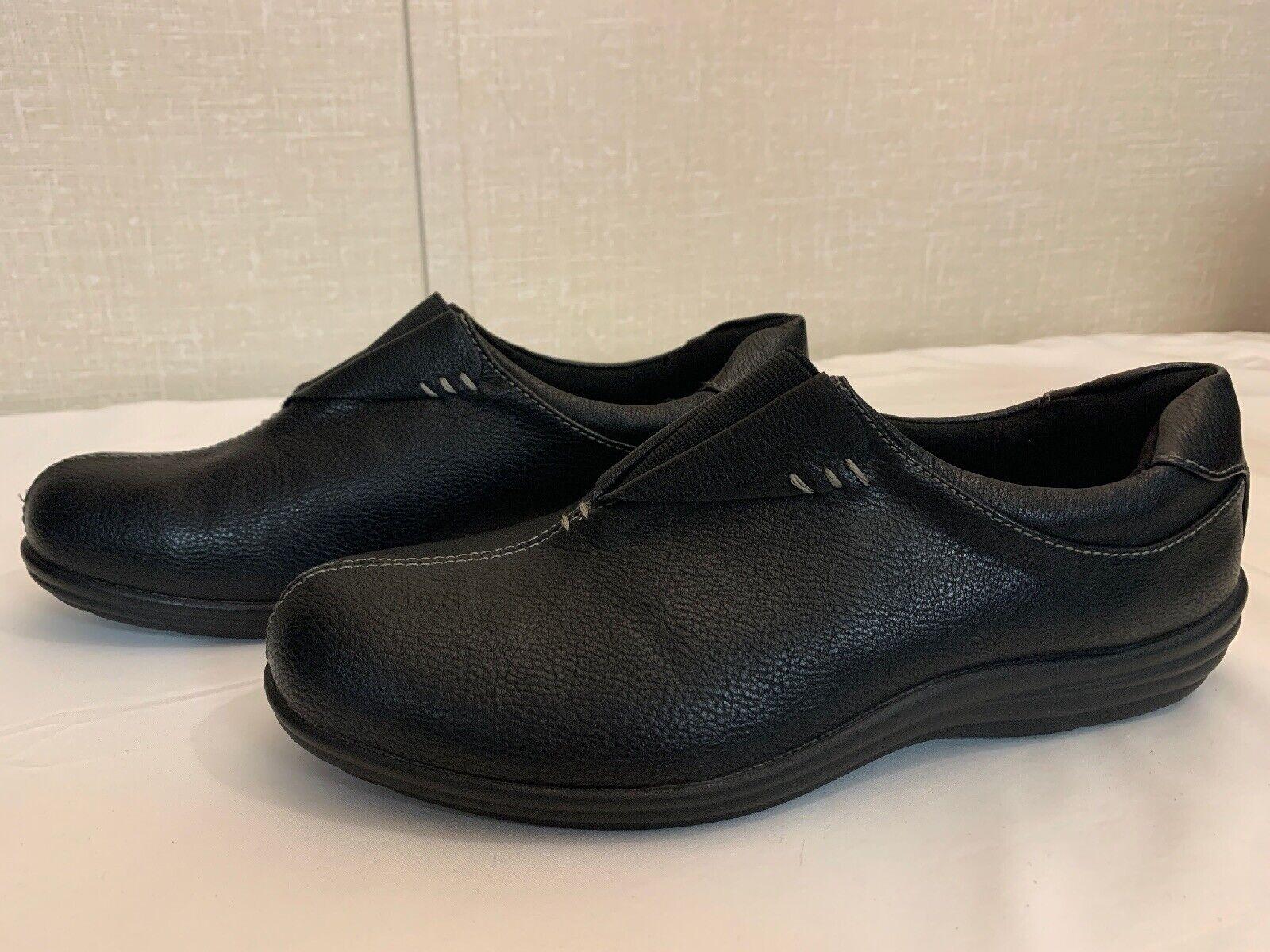 New W Tags Croft & Barrow Women's Black Ortholite Comfort Shoes Size 91/2 Medium
