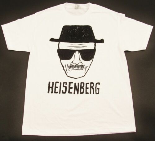 HEISENBERG T-shirt BREAKING BAD TV Series Walter White Tee Pinkman Adult S-2XL