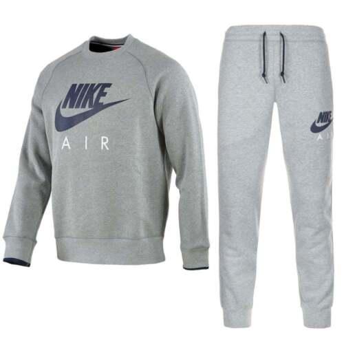 Nike Foundation Mens Brushed Fleece Hooded Sports Jogging Tracksuit Top Bottom