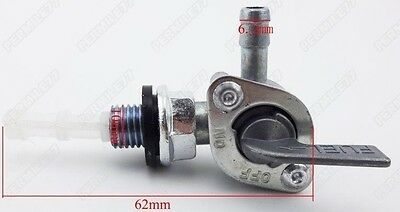 WOOSTAR 14mm Fuel Petcock Valve with Filter Gas Tank Switch Replacement for 50cc 70cc 90cc 110cc 125cc 150cc 200cc 250cc ATV 4 Wheeler Dirt Pit Bike Go Kart