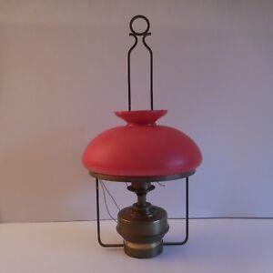N1987-eclairage-lustre-suspension-cuivre-laiton-verre-opalin-art-deco-PN-France
