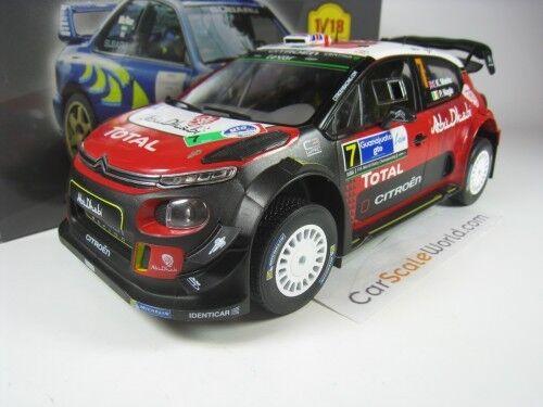 CITROEN C3 WRC 2017 WINNER RALLY MEXICO K.MEEKE 1 18 IXO ALTAYA