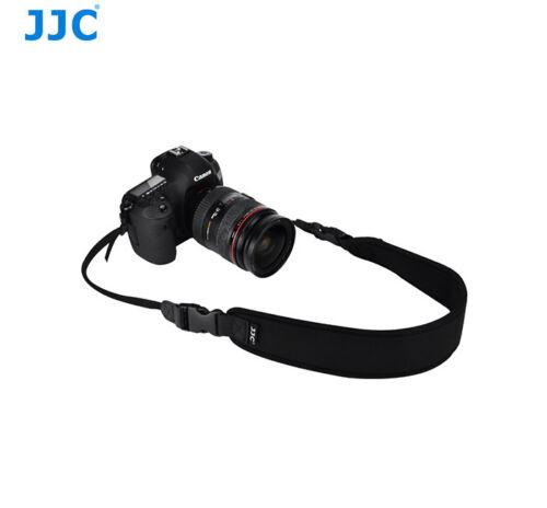Jjc ns-q1 neopreno cámara cinturón 130cm doblada para pequeños DSLRs /& cámaras de sistema