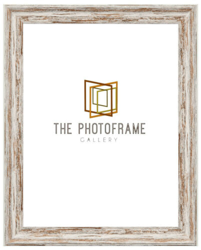 New Vintage Distressed Photo Frames Shabby Wood Effect Picture//Poster Frames
