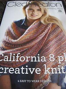 Cleckheaton Knitting Pattern Corrections : CLECKHEATON CALIFORNIA KNITTING PATTERN BOOK,NEW 2017,NO 3012,CREATIVE KNITS ...