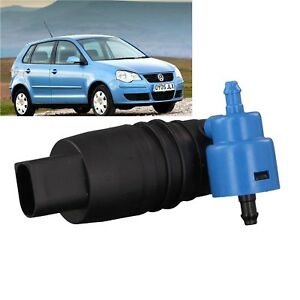 Front-amp-Rear-Windscreen-Washer-Pump-Fits-VW-Polo-2002-2003-2004-2005-Hatchback