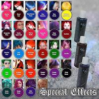 Special Effects Semi-permanent Vegan Hair Dye Color 4 Oz Punk Rock W/ Free Brush