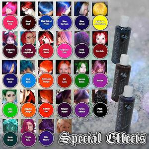 SPECIAL-EFFECTS-Semi-Permanent-VEGAN-Hair-Dye-Color-4-Oz-Punk-Rock-W-Free-Brush