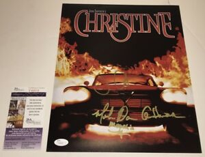 John-Carpenter-CHRISTINE-Cast-X3-Signed-11x14-Photo-IN-PERSON-Autograph-JSA-COA