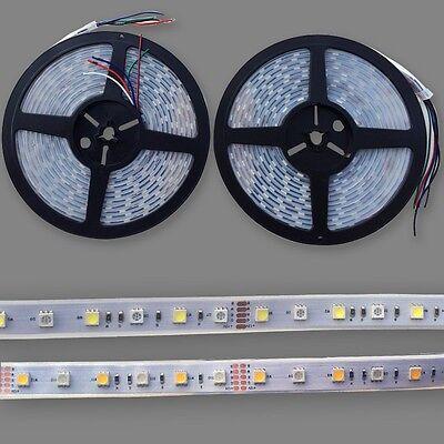 New 5/10/20M IP67 Waterproof SMD 5050 RGBW (RGB+White) LED Flexible Strip Light