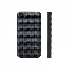 Black Ultra Light Hard Case for Apple iPhone 4 4S Diamond with Screen Protector