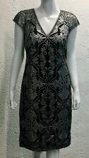Tadashi Shoji New Black Women's Size 6 Cocktail Dress Retail $388