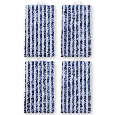 4 Reinigungstücher passend für Vorwerk Kobold SP 520 und 530 Hartbodenreiniger