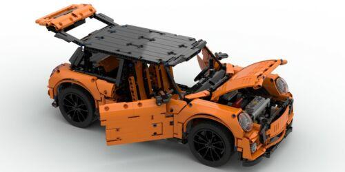 NOVITA/' Progetto MINI Cooper F56 del 2016 Lego Technic 42056