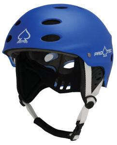Pro-tec Ace Wake Watersports WAKE Canoe Helmet 30489 S to XL Black Rubber
