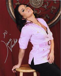 inari vachs model adult film star signed autograph 8x10 photo #6 w