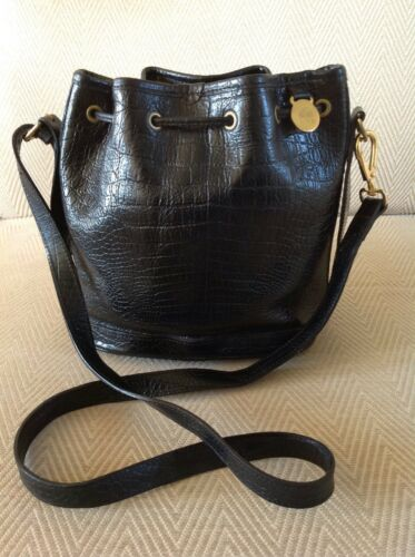 Mulberry Excellent Condition Black Bag Vintage Congo Cross Leather Body pxnpr8