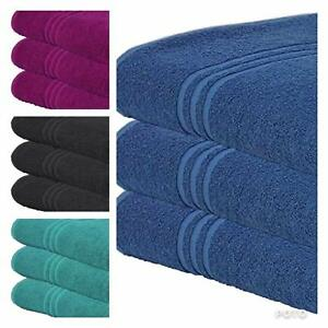 3-Pieces-of-Hotel-Quality-Egyptian-Cotton-combed-Bath-Sheets-Luxury-Thick