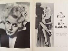 Jean Harlow Films 30s Blonde Bombshell Gable Tracy Powell  Photos HC